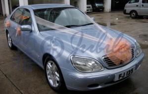 BENZ W220 (雪藍)