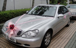 BENZ W220 (銀色)