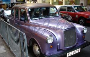 London Taxi (紫色)