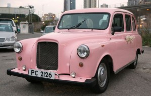 London Taxi (Light Pink)