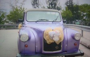 London Taxi (Purple)