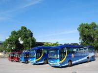 銀禧本地旅運業務繼續拓展,陸續更換更新更環保之車輛之餘,亦正式採用了「北極光」的車身設計,作為銀禧的標誌